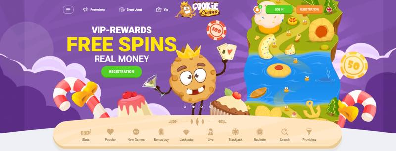 Cookie Casino -gratis spins