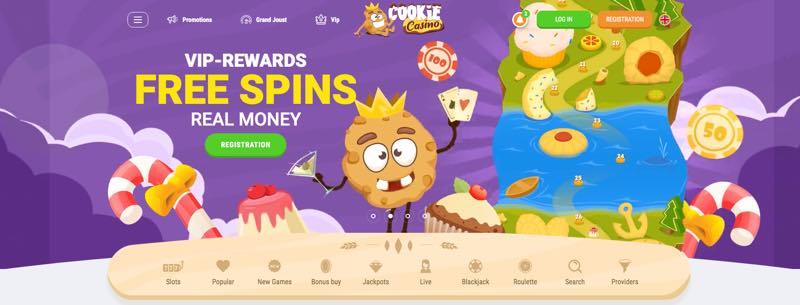 Cookie Casino -gratis spins