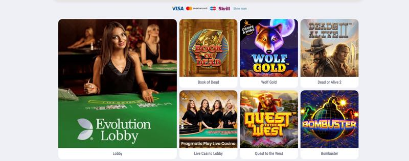 Cookie Casino - spellen