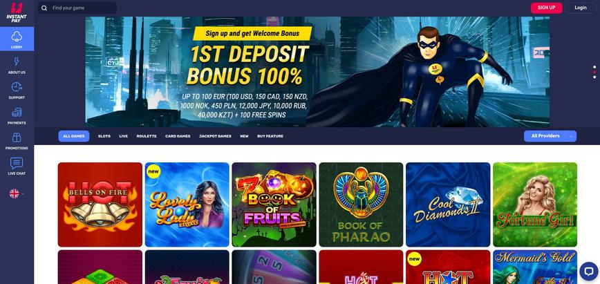Instant Pay Casino