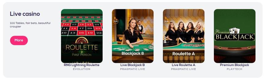 Live Wildfortune Casino